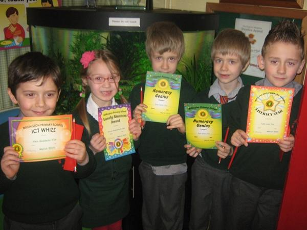 March Prize Winners!!
