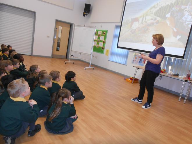 author readig to Year 1