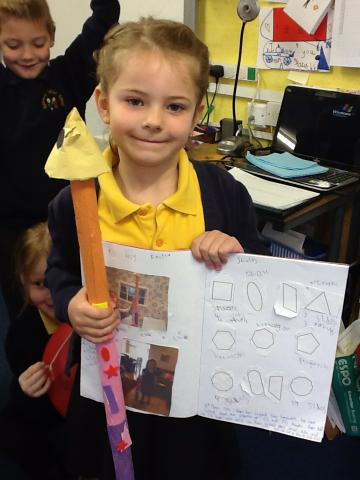 Writing about my shape rocket
