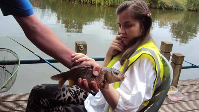 Fishing at Albrighton Moat