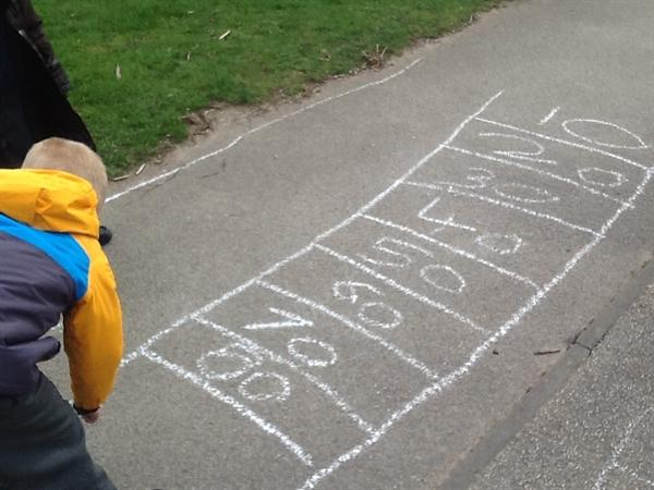 Outdoor Numeracy!