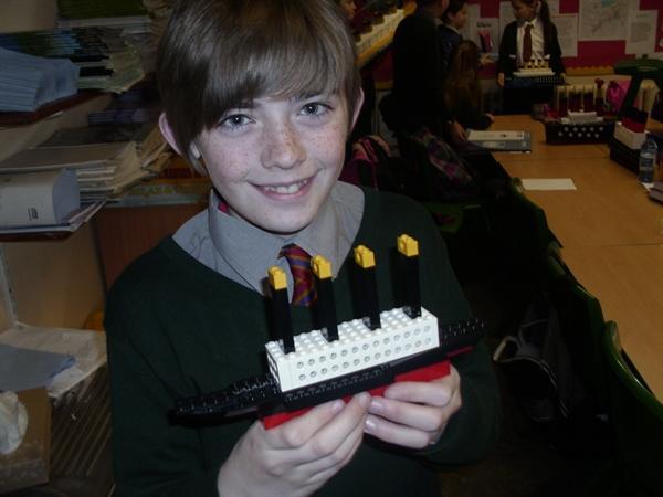 Titanic models