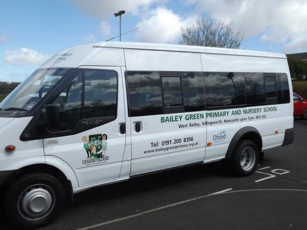 We are so proud of our new minibus!