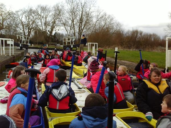 Year 5 Bell boating