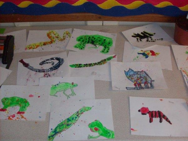 Reptile artwork