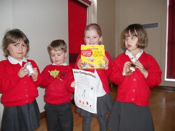 Eco Competition Winners Class One and Class Two