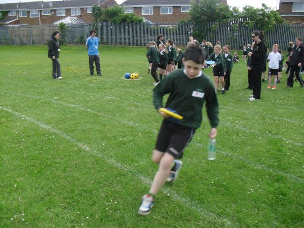 Bailey Green had a fantastic Sport's Day