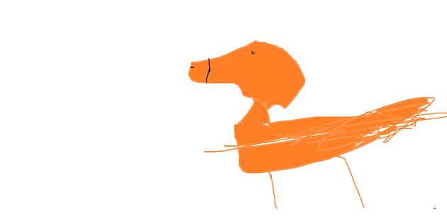 A Horse by Maja