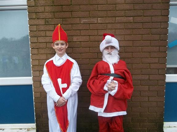 St Nick and Father Christmas