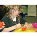 Mummifying a tomato