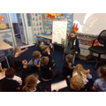 We really enjoyed hot seating Mr Pepys