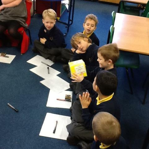 We used the story cube to recap what we learnt!