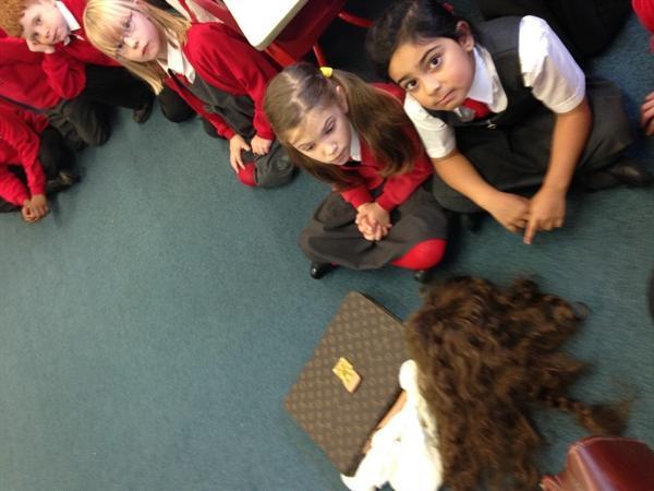 Examining the evidence!