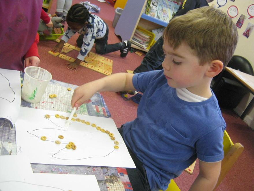This helped to develop our fine motor skills.