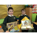 Our Egyptian shoebox project