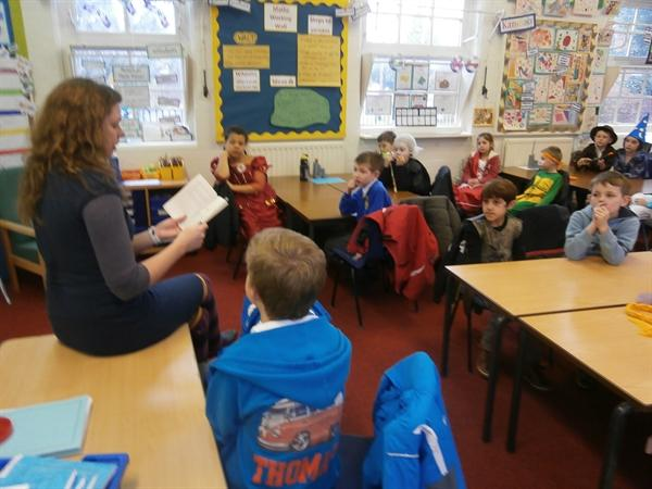 Mrs Trickett Reading Us A Story Love Her
