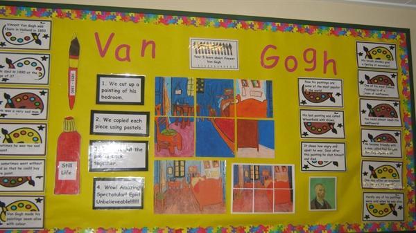 Y5 Van Gogh Corridor Display
