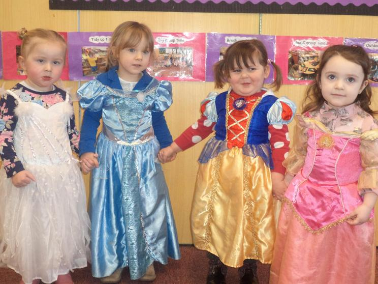 Role play dressing up