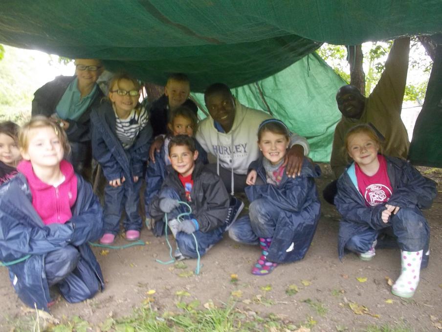 Enjoying forest schools