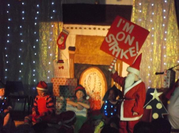 Year 3 Xmas play - Santa's on Strike!
