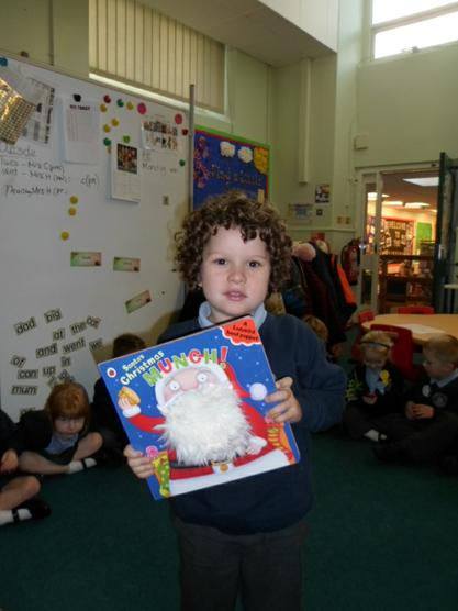Santa's Christmas Munch! We enjoyed this story.