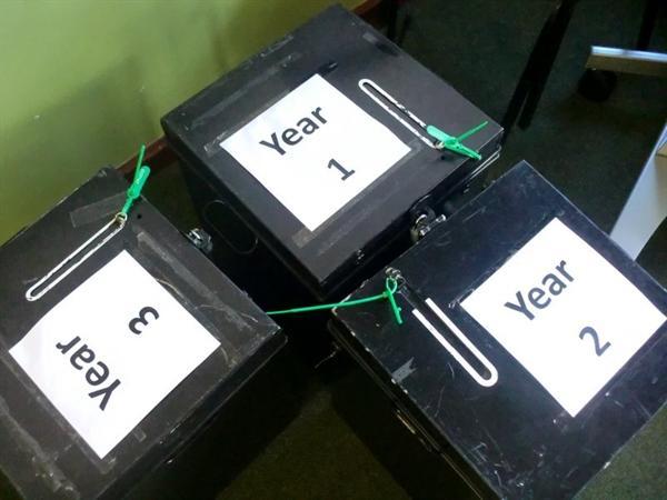 The Ballot Boxes