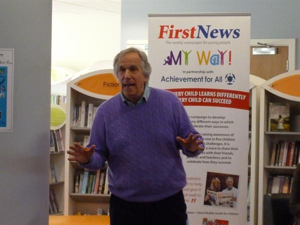 Henry Winkler, actor and author.