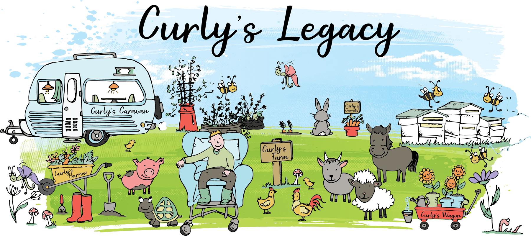 Curlys Legacy Illustration