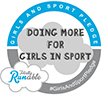 Girls and Sport Pledge Website and Signature Logo