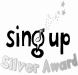 sing up silver award