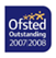 Ofsted Outstanding award 2007-2008