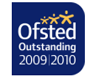Ofsted Outstanding award 2009-2010