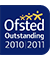 Ofsted OUTSTANDING award 2010-2011