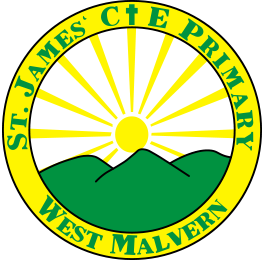 St James' Church of Endgland Primary School Logo