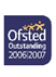 Ofsted outstanding award 2006-2007